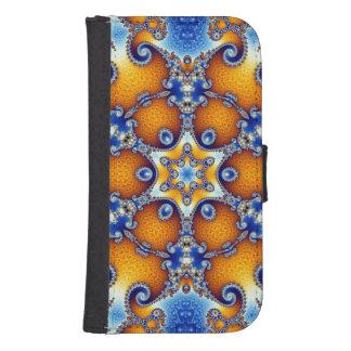 Ocean Life Mandala Samsung S4 Wallet Case