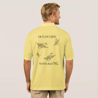 OCEAN LIFE manta-ray spirit Polo Shirt