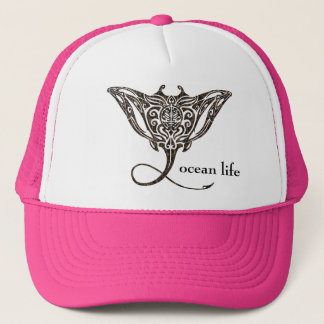 ocean life Manta Ray Trucker Hat