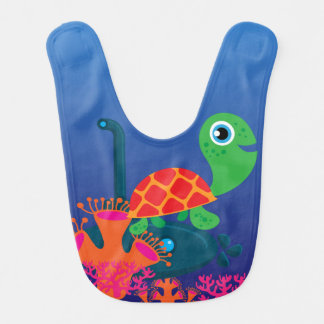 Ocean Life Sea Turtle Bib