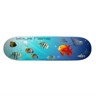 Ocean Life Skate Board Deck