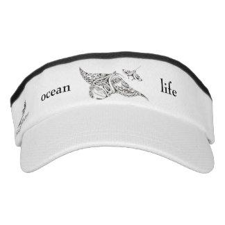 ocean life visor