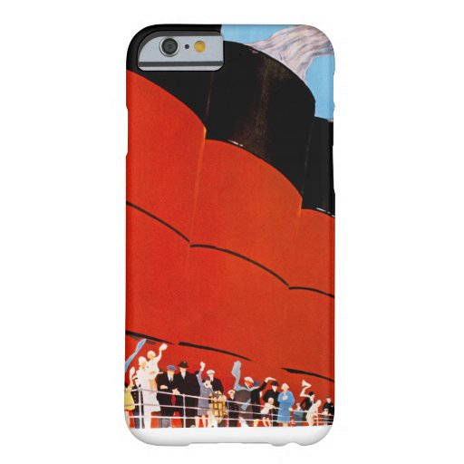 Ocean Liner Bon Voyage iPhone 6 Case