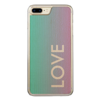 Ocean Love All Brands iPhone Slim Maple Wood Case