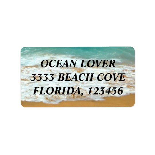 OCEAN LOVER LABEL