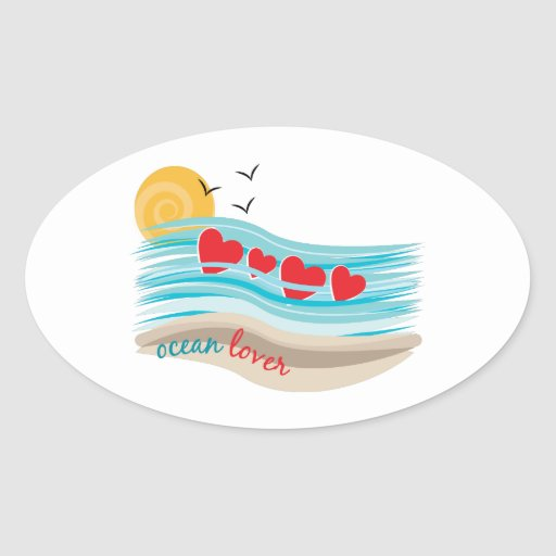 Ocean Lover Sticker