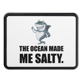 Ocean Made Me Salty Shark Hitch Cover