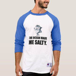Ocean Made Me Salty Shark T-Shirt