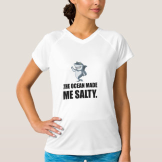 Ocean Made Me Salty Shark T-Shirt