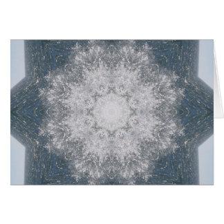 Ocean Mandala Card