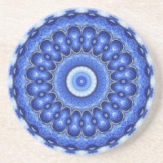 Ocean Mandala Coaster