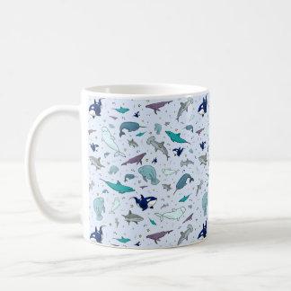 Ocean Mug in Blue