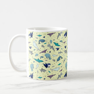Ocean Mug in Yellow