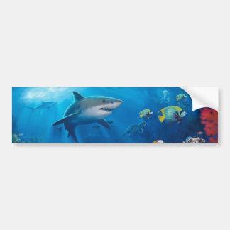 Ocean Mural Bumper Sticker