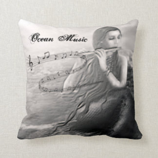 Ocean Music Pillow