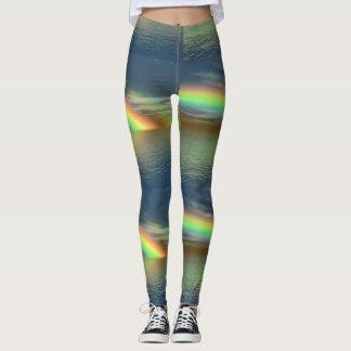 Ocean of Rainbows Yoga Pants