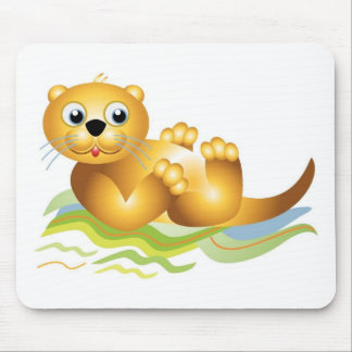 Ocean Otter Mouse Pad