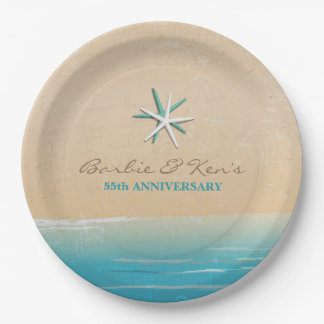 Ocean Party 9 Inch Paper Plate