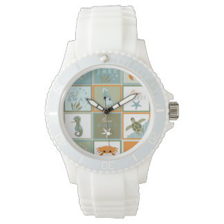 Ocean Patchwork Watch