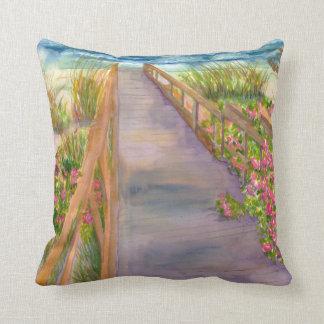 Ocean Path Pillow