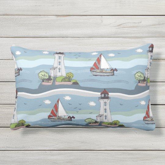 Ocean Pattern throw pillows