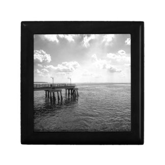 Ocean Pier in Black and White Gift Boxes