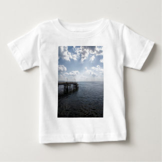 Ocean Pier Over Atlantic Ocean Baby T-Shirt
