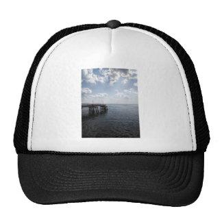 Ocean Pier Over Atlantic Ocean Trucker Hat