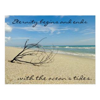 Ocean Quote Postcard