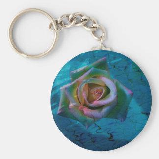 Ocean rose keychain