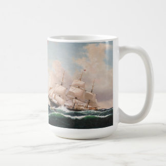 Ocean Sailing Clipper Ships High Seas Mug