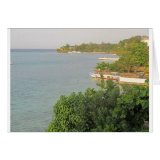 Ocean Sands View of Ocho Rios Card