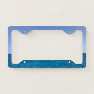 Ocean Scene License Plate License Plate Frame