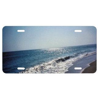 Ocean Scene - Outer Banks License Plate