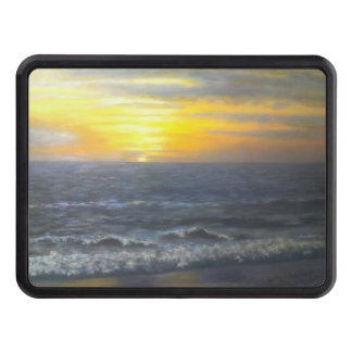 """""""OCEAN SCENE TRAILER HITCH"""" TOW HITCH COVER"""