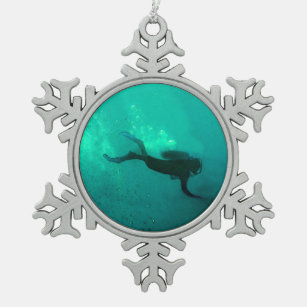 Scuba Diving Ornaments & Christmas Ornaments | Zazzle CA