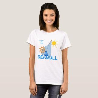 Ocean Sea Boating Sail dark customizable T-Shirt