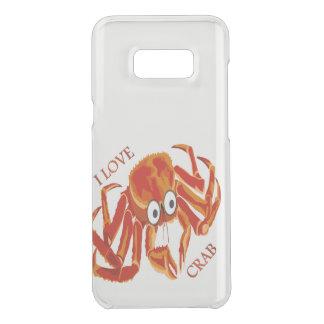 Ocean sea tropical orange king crab uncommon samsung galaxy s8 plus case