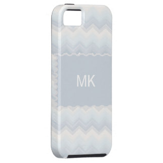 Ocean Shades Watercolor Chevron iPhone 5 Case