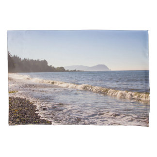 Ocean Shoreline & Beach Waves Pillow Case