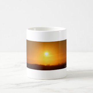 Ocean Shores Sunset Coffee Mug