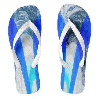 Ocean spirit flip flops