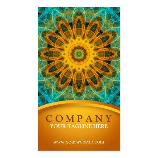 Ocean Star Mandala 2 Business Cards