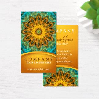 Ocean Star Mandala 2 Business Card