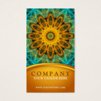 Ocean Star Mandala 2 Business Card