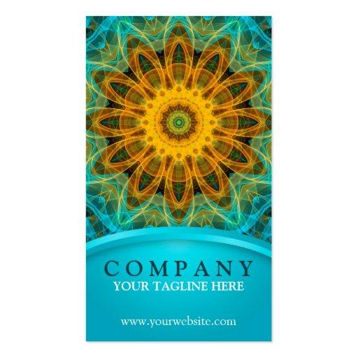 Ocean Star Mandala Business Card Template