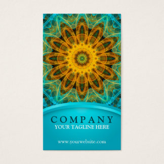 Ocean Star Mandala Business Card