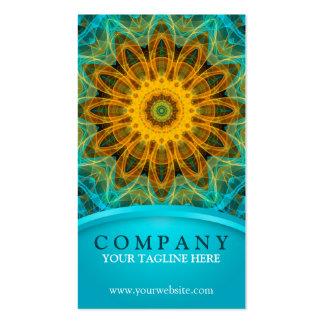 Ocean Star Mandala Pack Of Standard Business Cards