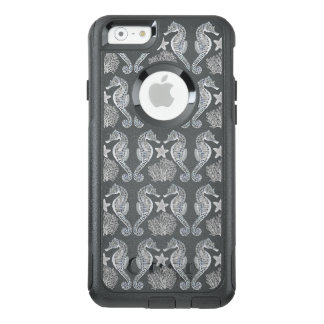 Ocean Starfish Seahorse Coral iPhone Case