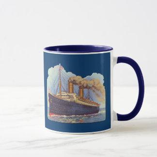 Ocean Steam Liner Ship